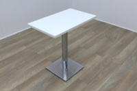 White Square Coffee Table 750mm - Thumb 4