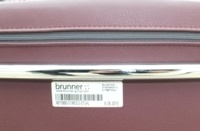 Brunner Burgundy Leather Cantilever Meeting Chair - Thumb 7