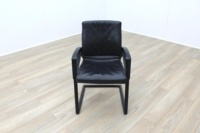Sitag Black Leather Executive Office Meeting Chairs - Thumb 3