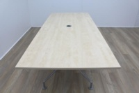 Maple 2400mm Rectangular Office Meeting Table - Thumb 5