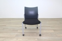 Senator Black Fabric Meeting Chair - Thumb 4