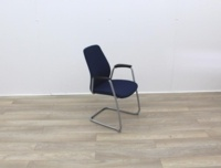Blue Stacking Meeting Chairs - Thumb 6