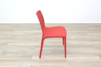 Brunner Red Polymer Canteen Chair - Thumb 6