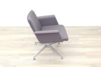 Brunner Grey Fabric Self Centering Meeting/Reception Chair - Thumb 6