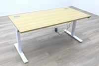 New Cancelled Order Electric Height Adjustable Sit Stand Office Desks - Thumb 6