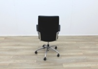 Black Leather Operator/Executive Chairs - Thumb 5