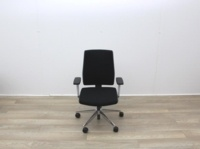 Senator Operator Chairs With White Back And Fabric Seat - Thumb 3