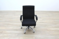 President Black Fabric Executive Office Task Chair - Thumb 7