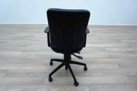 Blue Fabric Multifunction Office Task Chairs - Thumb 5