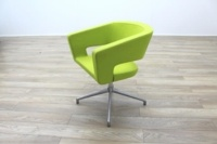 Boss Design Green Fabric Office Reception Tub Chairs - Thumb 5