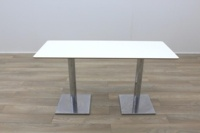 White Rectangular Coffee Table 1400mm - Thumb 3