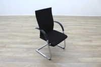 Ahrend Black Fabric High Back Office Meeting Chairs - Thumb 5