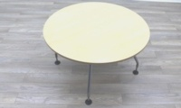 Vitra Adhoc Maple Round Coffee Table - Thumb 5