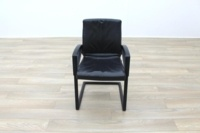 Sitag Black Leather Executive Office Meeting Chairs - Thumb 5