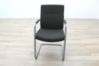 Connection Charcoal Fabric Office Meeting Chairs - Thumb 4