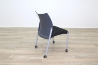 Senator Black Fabric Meeting Chair - Thumb 6