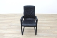 Sitag High Back Black Leather Executive Office Meeting Chair - Thumb 5