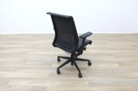 Steelcase Think Black Leather Office Task Chairs - Thumb 7