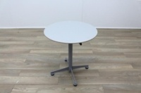 Brunner White Round Coffee Table Foldable - Thumb 3