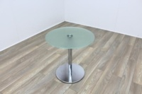 Brunner Glass Round Coffee Table - Thumb 2