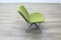Orangebox Track Green Fabric Office Reception Tub Chairs - Thumb 6