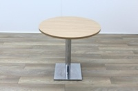 Oak Round Table 800mm - Thumb 3