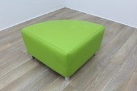 Boss Green Leather Reception Soft Chair - Thumb 2