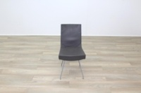 Brown Leather Montis Jim Office Meeting Dining Chairs - Thumb 5