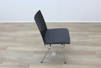 Brunner Dark Grey Fabric Seat Meeting Chair - Thumb 6
