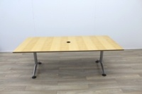 Maple Rectangular Meeting Table - Thumb 3