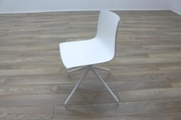 Arper Catifa 46 White Office Canteen / Meeting Chair - Thumb 5