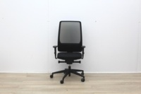Intersthul Black Operator Chair With Mesh Back - Thumb 2