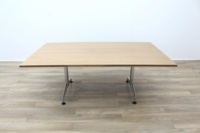 Kusch Co Walnut 2000mm Office Conference Meeting Table - Thumb 3