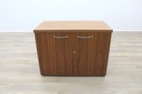 Sven Christiansen Solid Walnut Executive Office Credenza / Storage Cupboard - Thumb 2