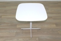 Brunner White Square Coffee Table - Thumb 3