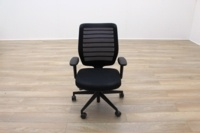 Senator Fuse Black Mesh Multifunction Office Task Chair - Thumb 3