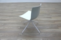 Arper Catifa 46 White Office Canteen / Meeting Chair - Thumb 6