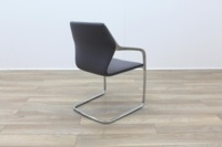 Brunner Grey Fabric Cantilever Meeting Chair - Thumb 7