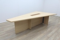 Sven Christiansen 3000mm Rare Triangular Solid Maple / Walnut Meeting Table - Thumb 2
