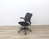 Humanscale Diffrient World Black Mesh Back And Fabric Seat Office Task Chairs - Thumb 4