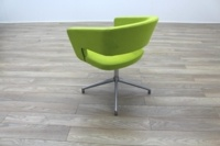 Boss Design Green Fabric Office Reception Tub Chairs - Thumb 7