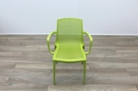 Brunner Green Garden/Canteen Chair - Thumb 4