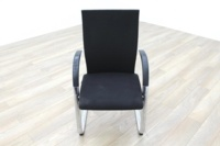 Ahrend Black Fabric High Back Office Meeting Chairs - Thumb 2