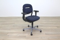 Ahrend Blue Fabric Operator Chair - Thumb 5