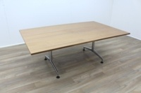 Kusch Co Walnut 2000mm Office Conference Meeting Table - Thumb 2