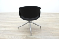 B&B Italia Sina Black Fabric White Back Office Reception Chair - Thumb 6