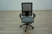Re-Upholstered in Any Colour - Mesh Back Multifunction Office Task Chairs - Thumb 3