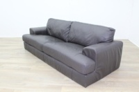 Dark Brown Reception Sofa - Thumb 3