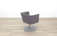 Grey Fabric Office Reception Tub Chairs - Thumb 7