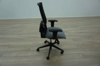 Re-Upholstered in Any Colour - Mesh Back Multifunction Office Task Chairs - Thumb 4